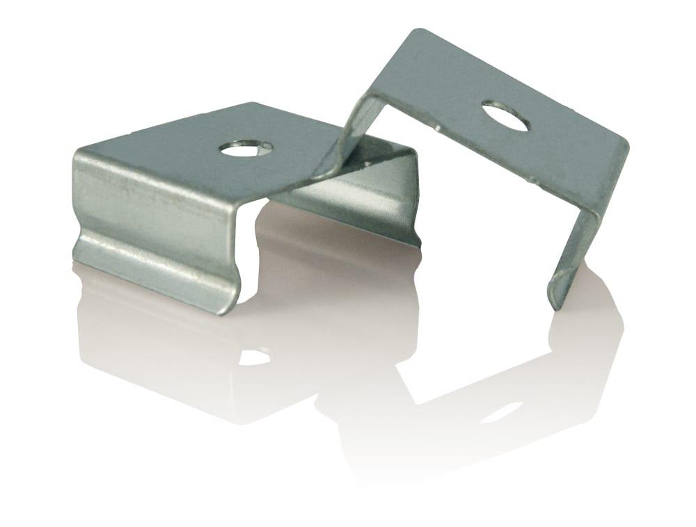 whitepython led metal clips
