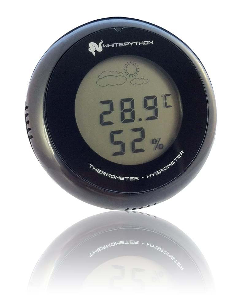 whitepython digital thermometer hygrometer. Black Bedroom Furniture Sets. Home Design Ideas